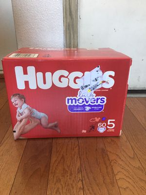 HUGGIES SIZE 5 60 pañales for Sale in Compton, CA