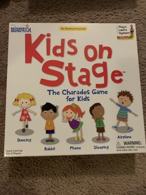 Kids stage board game for Sale in San Antonio, TX