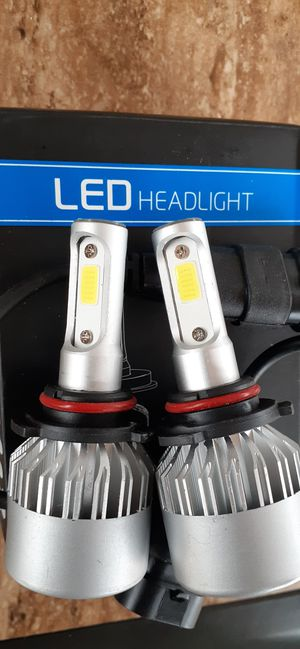 2pcs Car/Auto Led Headlight Bulbs 8000LM 6500K *6 Months Warranty* Low, High, Fog, Daytime, Luces Led, 9005, 9006, 9012, H1, H7, H11, H4, 9007, H13 for Sale in Santa Ana, CA