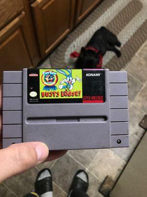 Tiny Toon super Nintendo for Sale in Modesto, CA