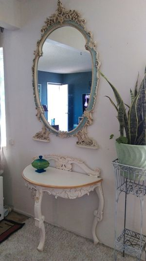 Vintage SILIK Italian Mirror Art Rococo for Sale in Orange, CA
