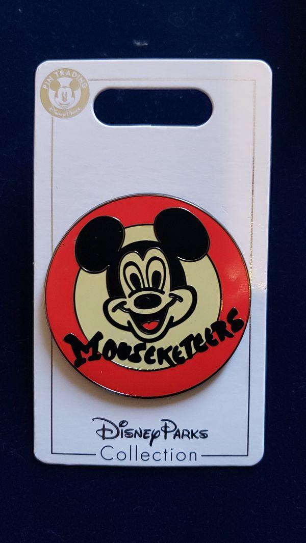 Mouseketeers Disney Trading pin