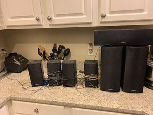 Onkyo 7.1 speakers for Sale in Arlington, VA