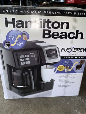 2 way coffee maker for Sale in Vancouver, WA