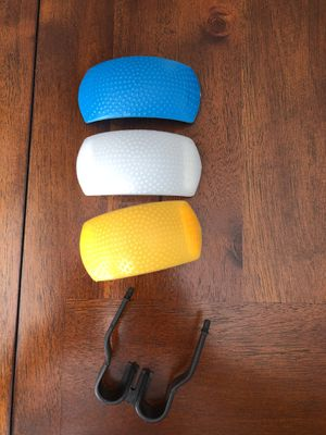 3-color flash diffusers for Canon and Nikon Pentax Olympus cameras for Sale in Fair Oaks, CA