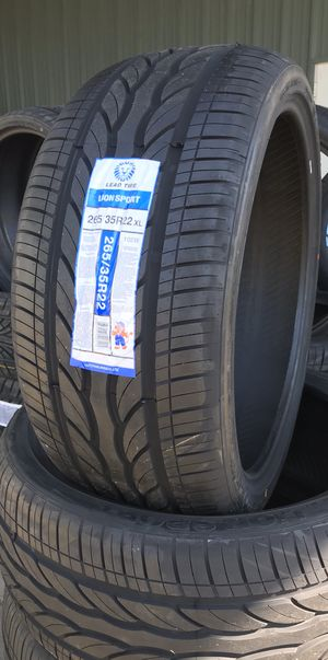 265 35 22💥4 new tires⚡️2 years warranty⚡️big saLE for Sale in Arlington, TX