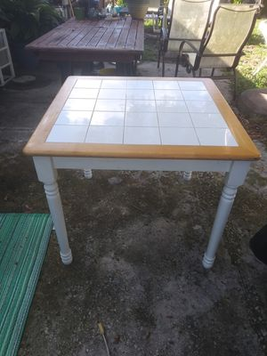 Tile top table for Sale in Largo, FL
