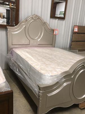 Brand new double headboard footboard and rails 388 for Sale in Charleston, SC