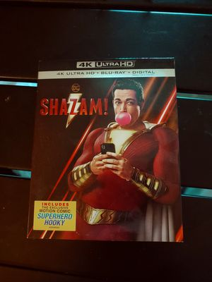 Shazam! 4K Brand New for Sale in Rancho Cucamonga, CA