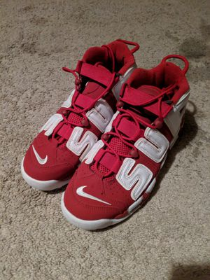 Supreme air more uptempo size 10.5 barely worn for Sale in Woodlawn, MD