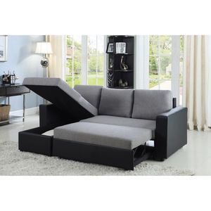 Contemporary sectional sleeper for Sale in Miami Gardens, FL