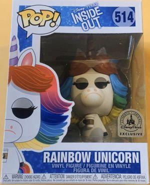 Funko POP: 514 Disney Pixar Inside Out - Rainbow Unicorn (Disney Parks Exclusive) for Sale in Issaquah, WA