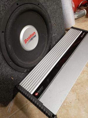 "Combo boston amplificador 5 canales y subwoofer 12"" for Sale in Chicago, IL"