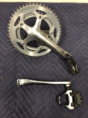 Shimano crankset and pedals for Sale in Arcadia, CA