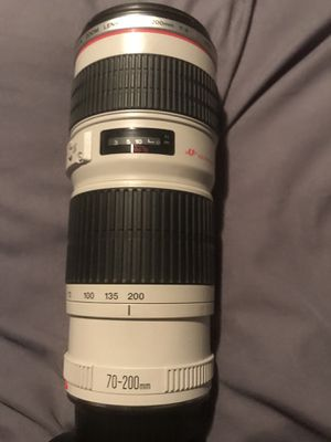 Canon 70-200 f4 lens for Sale in Bow Mar, CO