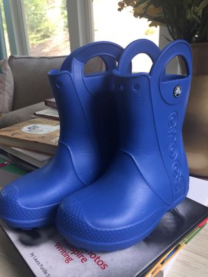 Brand new Crocs kids rain boots for Sale in Cumming, GA