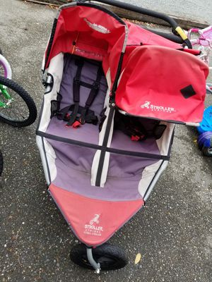 Bob double stroller Jogger jogging for Sale in Seattle, WA