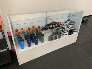 """70"""" Full Vision White Display Case for Sale in Eagan, MN"""