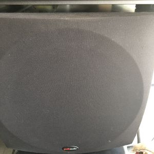 Polk Audio Subwoofer And Receiver for Sale in Chula Vista, CA