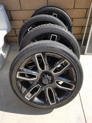 20 inch Platinum Wheels for Sale in Rancho Cucamonga, CA