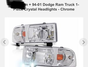 94-01 Dodge Ram headlights for Sale in Industry, CA