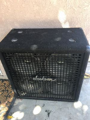 Jackson. Cabinet. Speaker great working conditions for Sale in Bell, CA