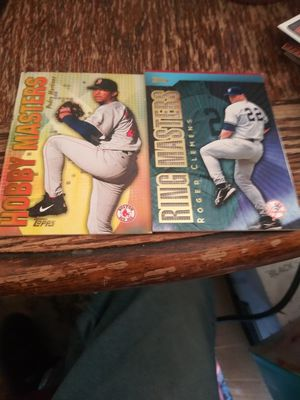 Clemens and martinez ring masters cards for Sale in Wichita, KS