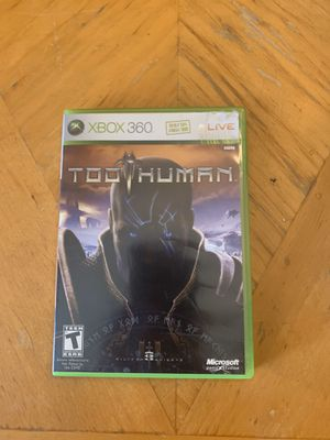Too Human Xbox 360 for Sale in Deltona, FL