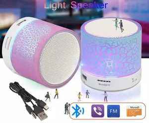 Mini light colorful led bluetooth rechargeable speaker for Sale in Los Angeles, CA