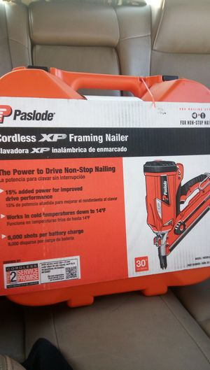 Paslode Cordless XP framing nailer for Sale in Riverside, CA