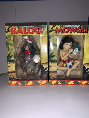 Disney Mowgli and Baloo Ornament for Sale in Lake Wales, FL