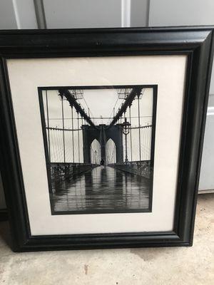 Golden Gate Bridge framed picture for Sale in Green Bay, WI