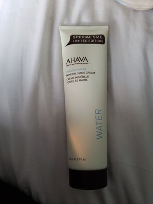 Ahava Deadsea Water Mineral Hand Cream Special limited Edition Size!! for Sale in Billerica, MA
