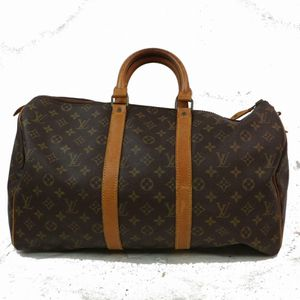 Authentic Louis Vuitton Keepall 45 M41428 Brown Monogram Boston Bag 11364 for Sale in Plano, TX