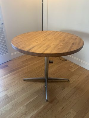 Mid-Century Modern Butcher Block Kitchen Table for Sale in New York, NY