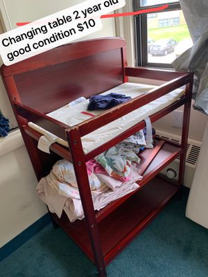 Changing table,crib mattress for Sale in Saint Paul, MN