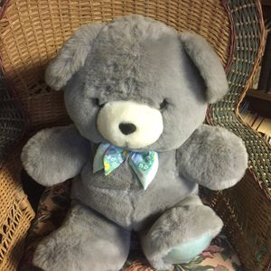 "Big Soft Gray Teddy Bear 28"" for Sale in East Windsor, NJ"