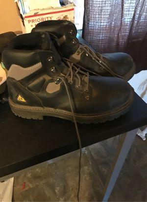 Ace steel toe workboots for Sale in Fontana, CA