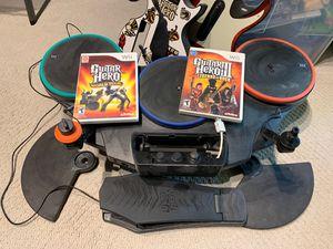 Guitar Hero Wii Bundle for Sale in Sterling, VA