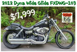 Harley Davidson Dyna Wide Glide for Sale in Saint Paul, MO
