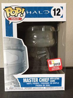 2018 E3 Master Chief Funko Pop! for Sale in Beaverton,  OR