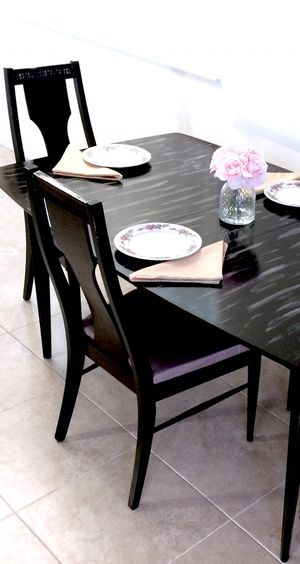 Luxury dining table and 4 chairs. MAKE OFFER for Sale in Delray Beach, FL