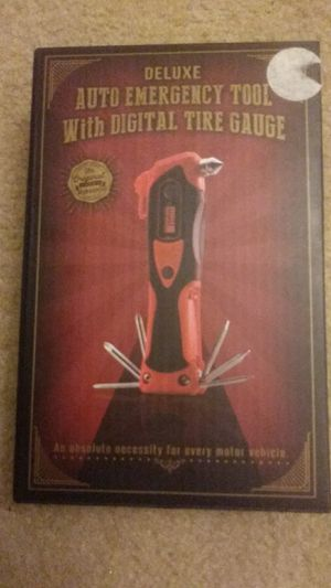 Deluxe auto emergency tool with 2 batteries for Sale in Falls Church, VA