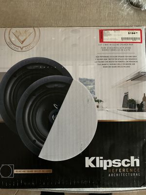 Klipsch in ceiling speakers for Sale in The Colony, TX