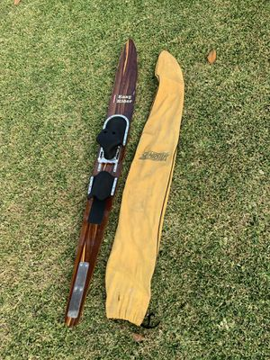 Vintage wood Easy Rider slalom water ski for Sale in Whittier, CA