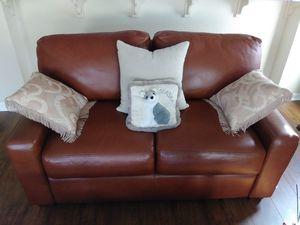 ARIZONA LEATHER sofa $800 for Sale in Lincoln, CA
