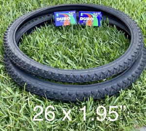 26 x 1.95 Mountain Bike Tires 🆕🚴🏽♀️ for Sale in Azusa, CA