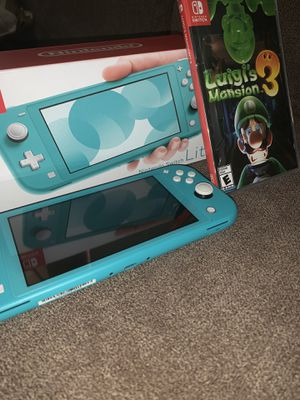 Nintendo Switch Lite + Game for Sale in VERNON ROCKVL, CT
