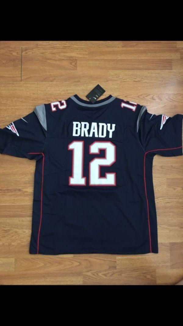 Tom Brady Patriots Jersey Large