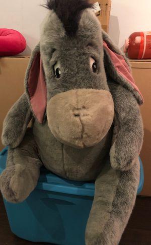 Disney Eeyore - big plush for Sale in Burke, VA